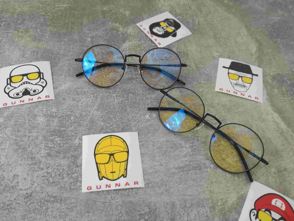 lunettes anti reflets bleu gunnar