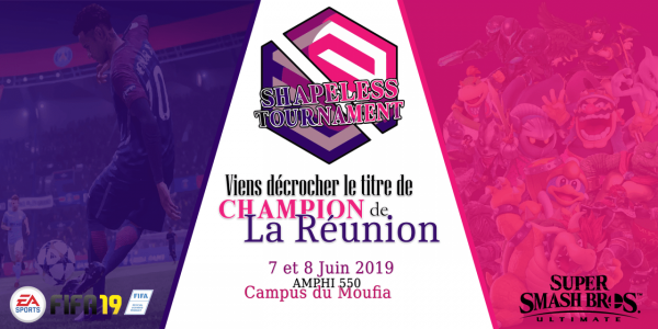 Shapeless esport la Réunion