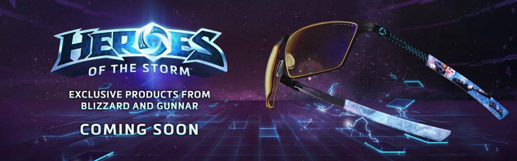 Lunettes Gunnar Heroes of the Storm Bliizzard
