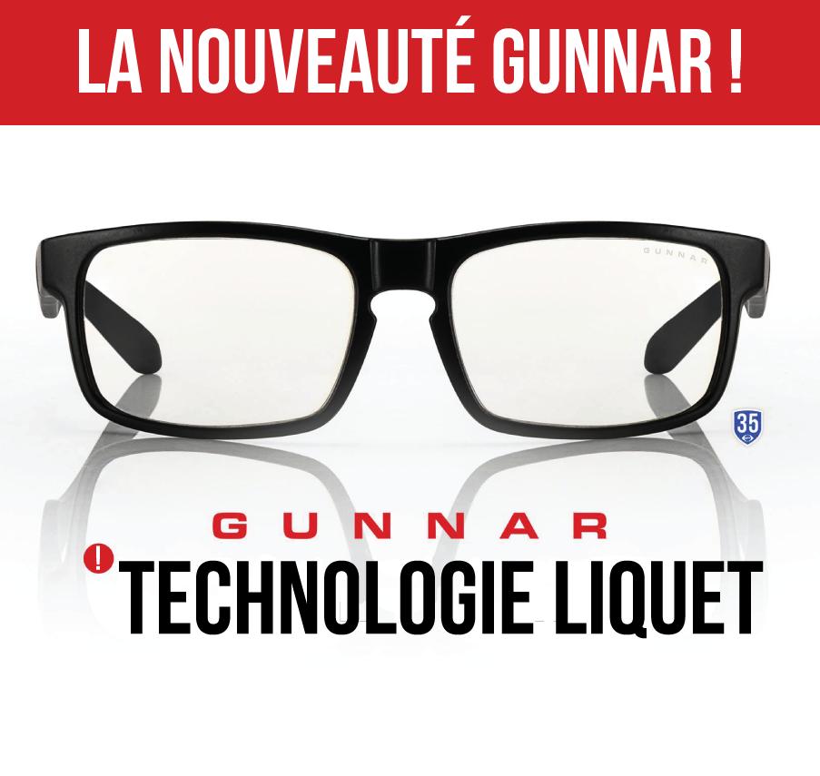Filtration, nouvelle technologie, Gunnar, lunette