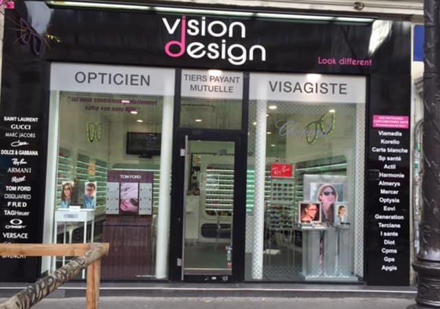 opticien partenaire vision design